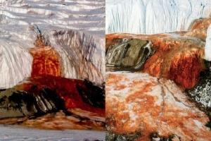 Hé lộ bí ẩn thác máu 'kinh dị' tại Nam Cực