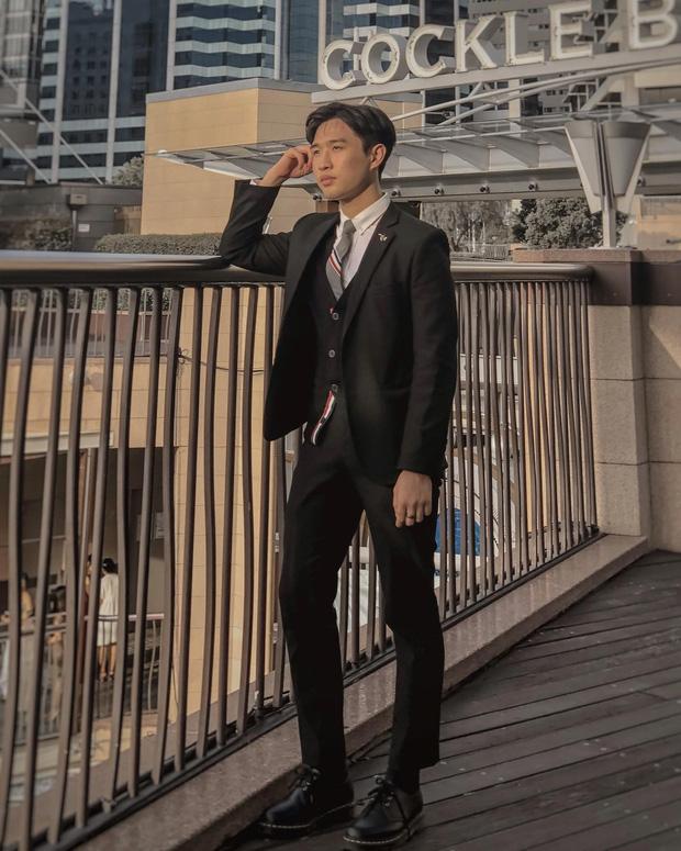 Louis Hoàng là du học sinh Úc.