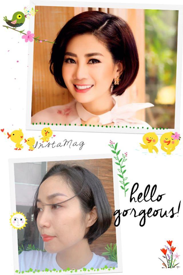 Ốc Thanh Vân đăng tải ảnh của cố diễn viên Mai Phương với mái tóc ngắn và nụ cười tươi tắn.