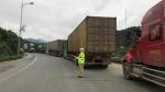 Lạng Sơn: Hàng trăm xe container xuất khẩu nông sản ùn ứ trên QL1A