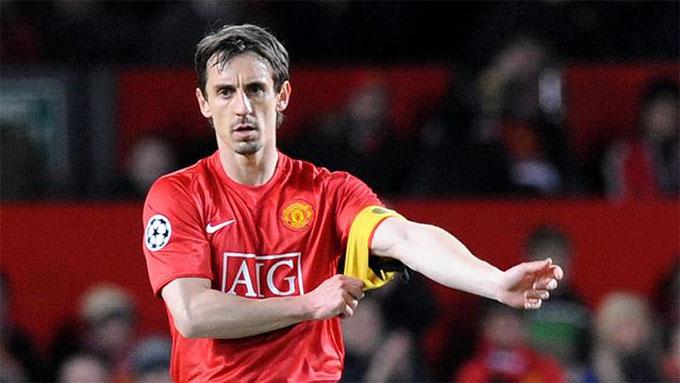 Neville là biểu tượng cho lòng trung thành ở M.U.