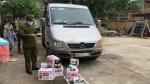 Lạng Sơn: Ngăn chặn kịp thời 140 tuýp kem bôi dưỡng da không có hóa đơn đang trên đường đi tiêu thụ