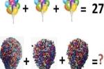 Lời giải cho bài Toán khiến 100% dân mạng 'bó tay': 3 chùm bóng bay khổng lồ trong phim Up cộng lại là bao nhiêu quả?