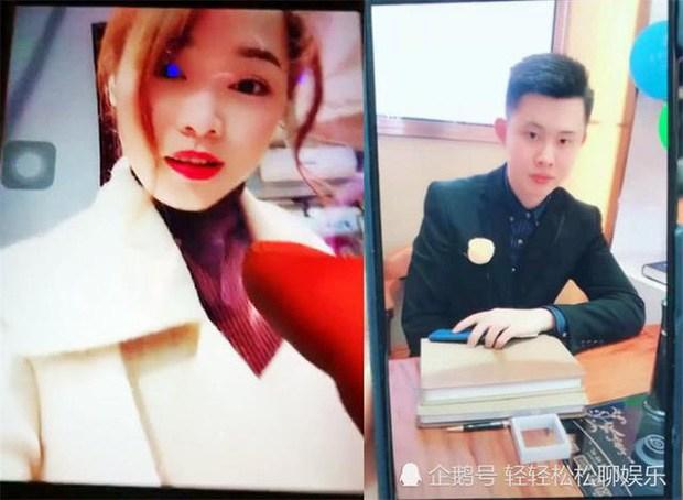 Xiao Hung và cô bạn gái quen qua mạng.