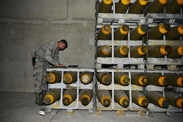 Kho vũ khí hạt nhân của Mỹ tại căn cứ Ramstein ở miền tây nam Đức. Nguồn: Eastday.com.