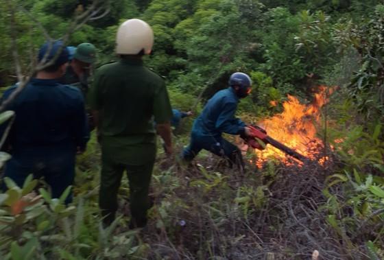 Đến sáng 26/5 đám cháy trên núi Sọ đã được dập tắt.