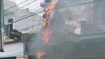 Thái Bình: Cháy lớn dữ dội trên cột điện, thiêu rụi nhiều côngtơ