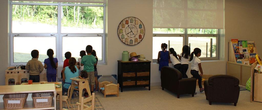 Bên trong trung tâm chăm sóc trẻ em Children's Home & Aid tại Mỹ. Ảnh: Children's Home & Aid.