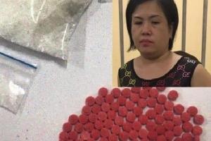 Bắt quả tang 'nữ quái' ở Hà Nội giấu ma túy vào 'chỗ hiểm' trên người