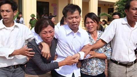 Ông Nguyễn Thanh Chấn ngày được minh oan.