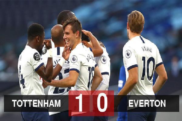 Kết quả Tottenham 1-0 Everton: Kane và Son vô duyên, Tottenham vẫn bỏ túi 3 điểm
