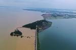 Mực nước sông, hồ lớn tại Trung Quốc tiếp tục tăng nhanh