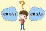 'Cọ xát' hay 'cọ sát'? 90% người Việt trả lời sai câu hỏi cơ bản này