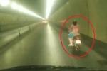 Người phụ nữ chạy xe máy vượt 3 chốt kiểm soát ở hầm Hải Vân
