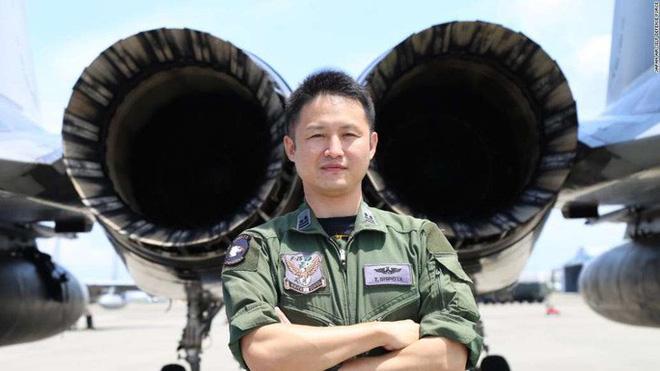 Ông Takamichi Shirota, trung tá của không quân Nhật Bản. Ảnh: Lực lượng phòng không Nhật Bản.