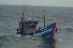 Thanh Hóa: Kịp thời cứu sống 5 ngư dân chìm tàu trên biển