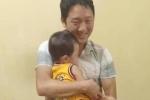 Cháu bé 2 tuổi ở Bắc Ninh gặp lại gia đình sau hơn 1 ngày mất tích, khoảnh khắc nằm trọn trong vòng tay bố gây xúc động
