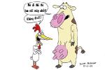 Nỗi lo của bò, gà mùa thi cử
