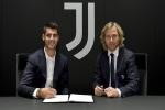 Chính thức: Juventus mượn Morata từ Atletico với giá 10 triệu euro