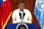Ông Duterte đề cập phán quyết Biển Đông gây bất ngờ lẫn hoài nghi
