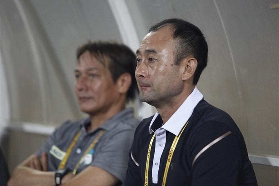 Ông Lee Tae-hoon thôi chức huấn luyện viên trưởng tại Hoàng Anh Gia Lai. Ảnh: H.Đ