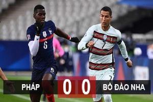 Kết quả Pháp 0-0 Bồ Đào Nha: Siêu cường hòa nhạt trong ngày Mbappe & Ronaldo im tiếng