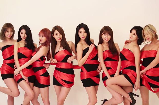9Muses là một trong những nhóm nhạc theo đuổi concept sexy của Kpop.
