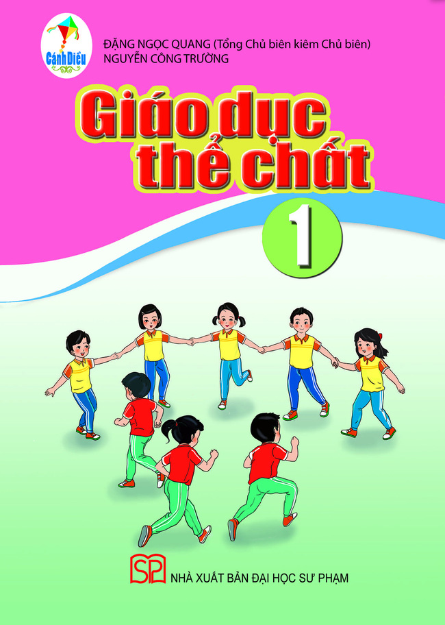 Sách Giáo dục thể chất lớp 1 bộ Cánh Diều gây tranh cãi.