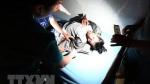 Quảng Trị: Trực thăng đưa 2 cán bộ bị thương ở xã bị cô lập ra ngoài điều trị