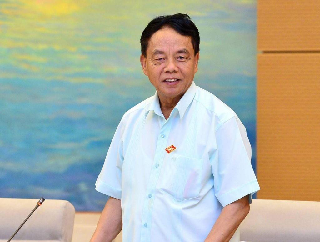Chủ nhiệm Ủy ban Quốc phòng An ninh Võ Trọng Việt. Ảnh: Hải Quân.