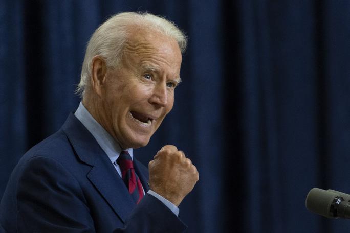 Ứng viên tổng thống của đảng Dân chủ Joe Biden. Ảnh: AP.