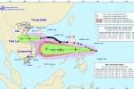 Tin bão mới nhất: Áp thấp nhiệt đới mới đã mạnh lên thành bão Molave