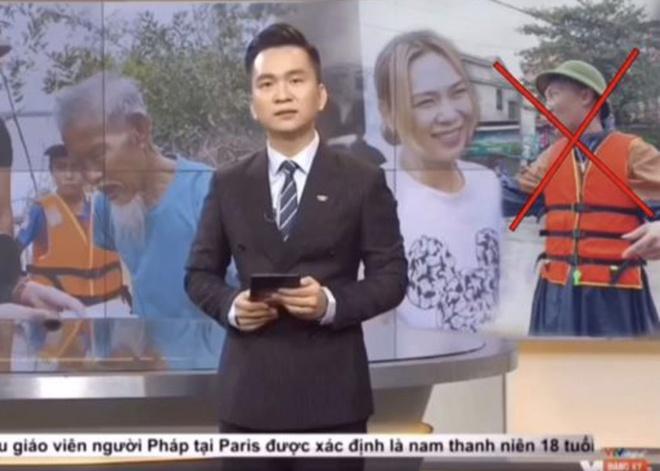 Fanpage Huấn Hoa Hồng đăng video mạo danh VTV. Ảnh chụp màn hình.