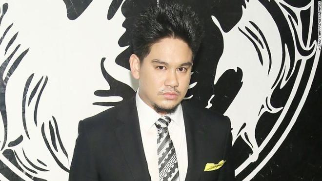 Hoàng tử Azim tại một sự kiện của Versace ở New York năm 2013. Ảnh: CNN.