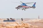 Sẵn sàng trực thăng cứu hộ dân bị ảnh hưởng bởi bão số 9