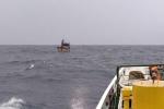 Thêm 2 tàu kiểm ngư chi viện tìm kiếm 26 ngư dân mất tích ở vùng biển Khánh Hoà