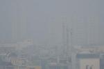 Sương mù bao phủ TP.HCM sáng nay