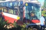 Xe Thành Bưởi lao vào nhà dân trên Quốc lộ 20 lúc rạng sáng