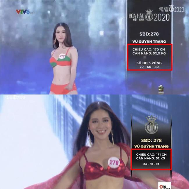 Hàng loạt thí sinh Hoa hậu Việt Nam 2020 bị phát hiện thay đổi số đo nhân trắc học bất thường qua từng vòng, BTC chính thức lên tiếng - 3