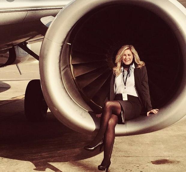 Heather Poole đã có 20 năm làm tiếp viên hàng không.