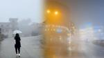 Chùm ảnh: Nhiệt độ giảm mạnh, thị trấn Sa Pa chìm trong sương mù, rét buốt