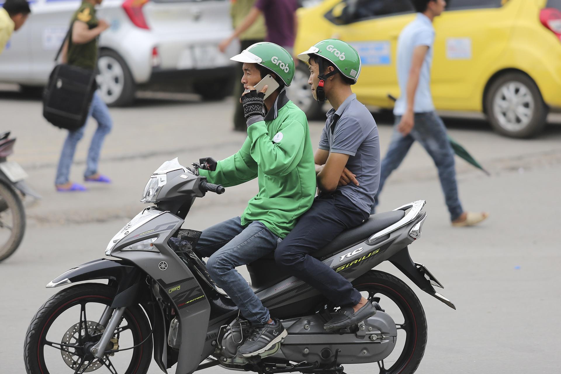 Grab có khoảng 175.000 tài xế ở Việt Nam. Ảnh: Việt Hùng.