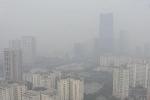 Hà Nội ô nhiễm không khí nghiêm trọng, bầu trời mờ đục vì khói bụi