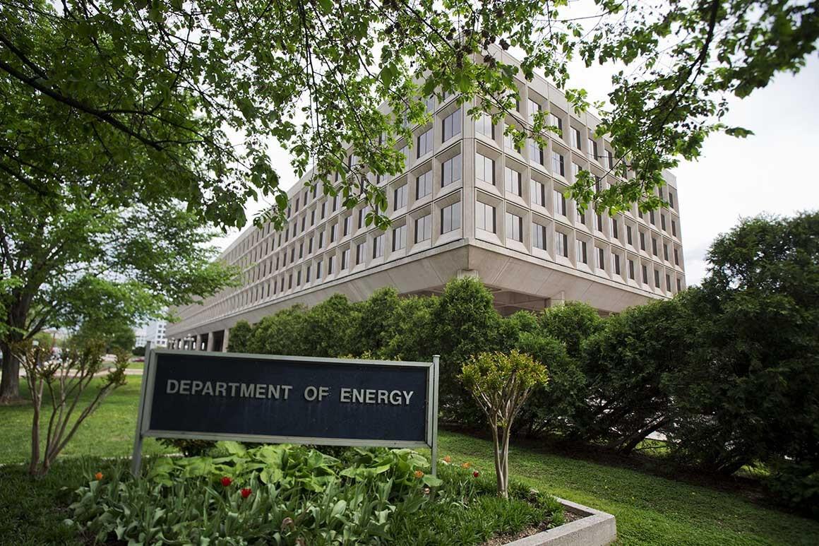 Trụ sở Bộ Năng lượng Mỹ. Ảnh: AP.