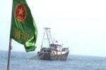 Đuổi hai tàu cá xâm phạm vùng biển Việt Nam