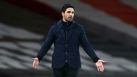 Arteta thừa nhận Arsenal khủng hoảng sau trận thua Man City