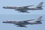 Khoe mẽ sức mạnh, máy bay ném bom Trung Quốc hóa ra nhỏ bé khi đứng cạnh 'gã khổng lồ' Nga