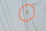 Bắc Giang: Thả diều gây mất điện cao thế