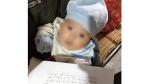 Một cháu bé bị bỏ rơi tại xã Tân An