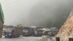 Lai Châu: Quốc lộ 4D, đoạn qua xã Sơn Bình tắc đường do băng tuyết